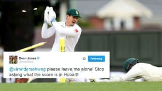 Twitterati troll Australia's collapse against South Africa at Hobart