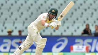 1st Test, Adelaide: Australia 57/2 at lunch on day two after India fold for 250