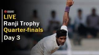 Live Cricket Scores, Ranji Trophy, quarter-finals, Day 3: Mumbai, Kerala, Gujarat on back foot, Delhi take lead