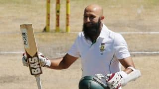 Hashim Amla's defiant century for South Africa keeps Sri Lanka in check at Tea on Day 3 off 2nd Test