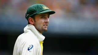 Nathan Lyon puts Australia on top vs Bangladesh at lunch on Day 1 of 2nd Test