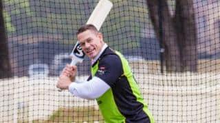 Watch WWE Superstar John Cena thunder with the bat in Sydney
