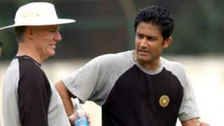 Anil Kumble backed by Greg Chappell to succeed as India coach