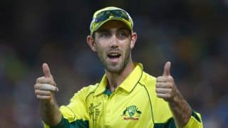 VIDEO: Glenn Maxwell coaches a school side along with his teammate