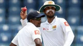 Dinesh Chandimal named captain in Sri Lanka's Test squad for series against South Africa