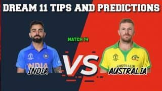 IND vs AUS Dream11 Prediction LIVE: Best Players to Pick for Today's Match between India and Australia at 3 PM