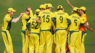 Spinners put Australia in control