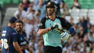Kevin Pietersen flops on return to action in England with Surrey