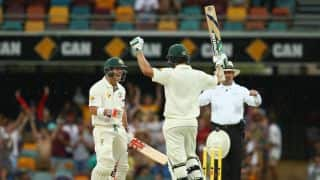 Australia gain healthy lead of 503 after Burns and Warner smash hundreds at stumps on Day 3