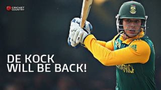 Quinton de Kock will make strong comeback after his unsurprising axe for series against New Zealand