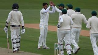 Rain abandons first session play on Day 2 Pakistan's tour match vs Kent