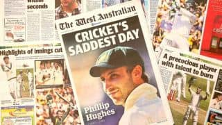 Phil Hughes passes away: Australia mourn as newspapers pay rich tribute