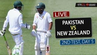 NZ win by 138 runs | LIVE Cricket Score, Pakistan vs New Zealand, 2nd Test, Day 5 at Hamilton