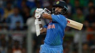 जोहान्सबर्ग टी20: शिखर धवन के धमाकेदार अर्धशतक से टीम इंडिया 203/5