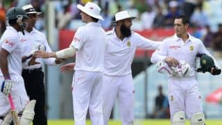 Bangladesh vs South Africa 2015, Live Cricket Score: 1st Test at Chittagong, Day 4
