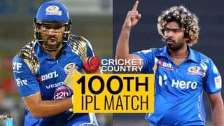 IPL 2017: Rohit Sharma, Lasith Malinga play 100th match for Mumbai Indians (MI)