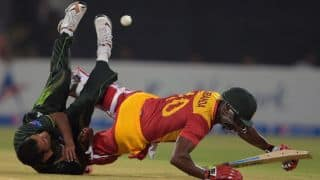 Zimbabwe score 100 against Pakistan in 2nd T20I at Lahore