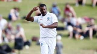 Gabriel 3rd West Indian to take 13 wickets in a Test, vs SK