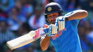 India in control against Bangladesh in quarter-final of ICC Cricket World Cup 2015