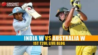 INDW XI 141/5   Live Cricket Score, India Women vs Australia Women 2015-16, 1st T20I at Adelaide: India lead series 1-0