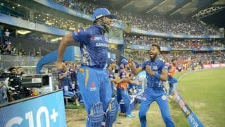 VIDEO: Pollard's 31-ball 83 takes Mumbai to hat-trick of wins