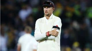 The Ashes 2017-18: England cricketers wear black band in memory of Russell Evans