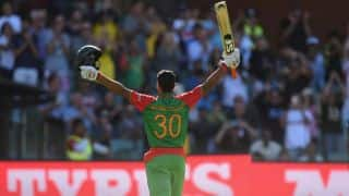 VIDEO: Happy Bangladesh have qualified for the quarter-finals of ICC Cricket World Cup 2015, says Mahmudullah