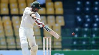Ervine holds fort as ZIM put up 213/6 against SL at tea on Day 1 of Colombo Test