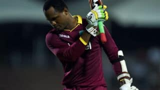 Samuels reprimanded for breaching ICC code of conduct during ZIM clash