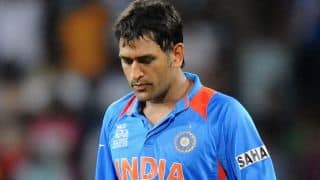Vijay Hazare Trophy 2015-16: MS Dhoni's disapponting run continues