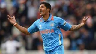 India vs New Zealand, 2nd ODI: Umesh Yadav rattles Martin Guptill's stumps in first over