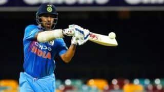 विश्व कप में चौथे नंबर के बल्लेबाज को लेकर कप्तान-कोच लेंगे फैसला: शिखर धवन