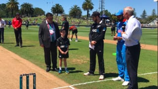 1st ODI: New Zealand bat, Santner returns; India recall Kuldeep and Rayudu