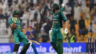 Shoaib Malik helps Pakistan edge inspired Afghanistan