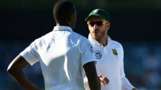 Faf du plessis unhappy with ICC's four-day Test approval for the Zimbabwe Tests