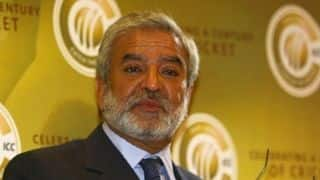 Ehsan Mani wants the ICC to help restore his country's bilateral playing ties with India