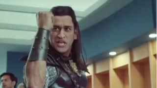 Dhoni, the long-haired warrior, is back? Watch video
