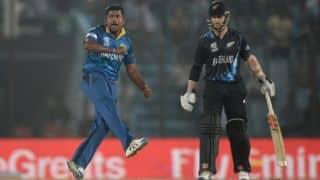 New Zealand vs Sri Lanka 2014-15: Luke Ronchi run out for duck by Tillakaratne Dilshan