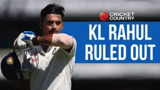 KL Rahul ruled out of India tour of Bangladesh 2015