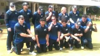 Blind T20 World Cup: NZ team perform Haka on eve of finale