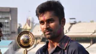 Vinay Kumar felicitated with Karnataka Rajyotsava Award