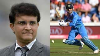 Confident of Dhoni doing well in World Cup: Sourav Ganguly