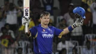 Shane Watson was confident of things working out well for Rajasthan Royals