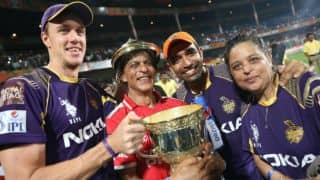 Shahrukh dedicates KKR's IPL 7 win to youngest son AbRam