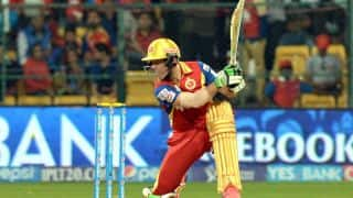 RR vs RCB IPL 2015 Match No. 22: RCB in command against Rajasthan