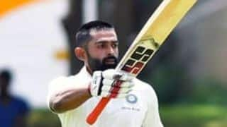 Duleep Trophy: Bawne sizzles with century but India Red march ahead