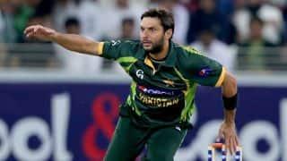 Shahid Afridi to miss final ODI against Sri Lanka
