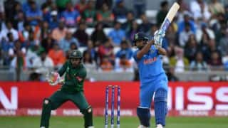 ICC Champions Trophy 2017, India vs Bangladesh, Semi-Final 2 at Edgbaston: Rohit Sharma's 123, Kedar Jadhav's spell, other highlights