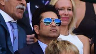 VIDEO: Sachin Tendulkar, Sunil Gavaskar, other sports heroes sing Indian national anthem