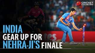 IND look to open account in Nehra-ji's farewell